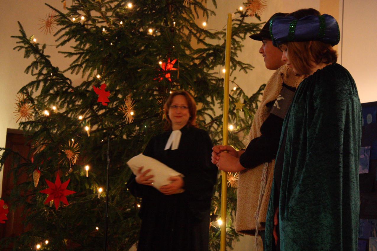 """An Weihnachten begegnen sich Himmel und Erde"""" « Schulleben « Schule ..."""